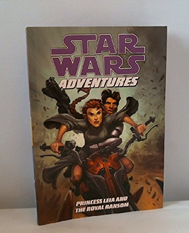 Star Wars Adventures: Princess Leia and the Royal Ransom [Paperback] [Aug 18, 2009] Barlow, Jeremy and Various