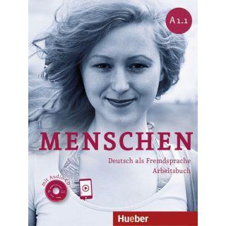 Menschen A1/1. Arbeitsbuch mit Audio-CD - Deutsch als Fremdsprache