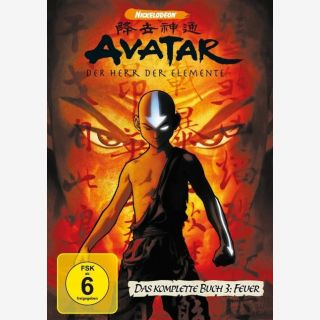 Avatar - Der Herr der Elemente, Das komplette Buch 3: Feuer (4 Discs, Multibox) - Deutsch/Englisch/Französisch/Niederländisch