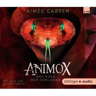 Animox 02. Das Auge der Schlange (4 CD) - Autorisierte Lesefassung