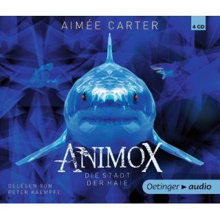 Animox 03. Die Stadt der Haie (4 CD) - Autorisierte Lesefassung