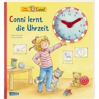 Conni-Bilderbücher: Conni lernt die Uhrzeit - Kinderbeschäftigung ab 5 Jahren