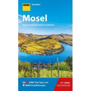 ADAC Reiseführer Mosel - Der Kompakte mit den ADAC Top Tipps und cleveren Klappkarten