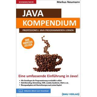 Java Kompendium - Professionell Java programmieren lernen