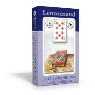 Lenormand Orakelkarten mit Kartenabbildungen - 36 Orakelkarten